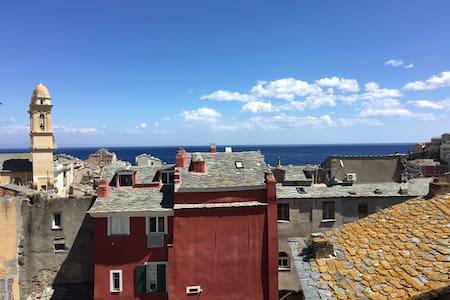 T2 centre ville bastia  avec vu mer - Apartment