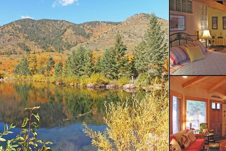 Serene & Beautiful Colorado Cottage on the Creek - Colorado Springs - Cabin