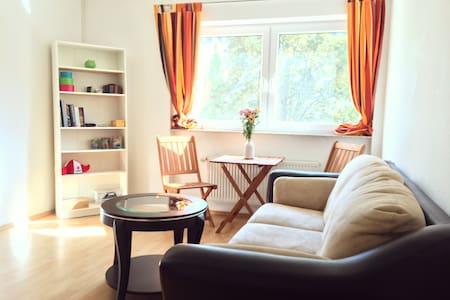 Bright Room near the Herrngarten - Darmstadt - Flat