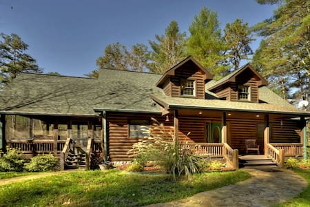 The top 20 big canoe vacation cabin rentals airbnb for The lodge at big canoe