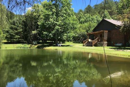 Ocoee Nights Meditation Pond Retreat - Hot Tub! - Talo