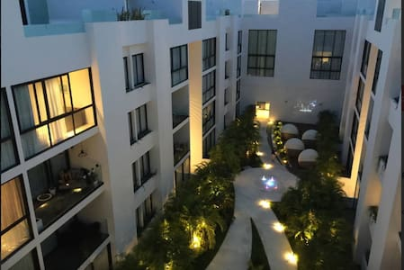 Best location, 1 min. 5th avenida and 3 min. beach - Playa del Carmen - Apartment