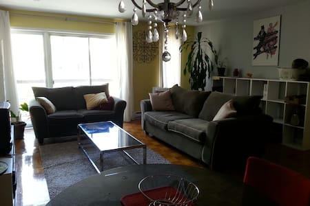 Clean & Comfy, Convenient to Everything - Montréal - Wohnung