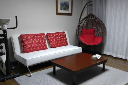 위미항 근처(올레5코스)의 깨끗하고 넓은 신축아파트의 개인실 - Apartment