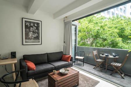 Designer studio with rooftop - Hong Kong - Appartamento