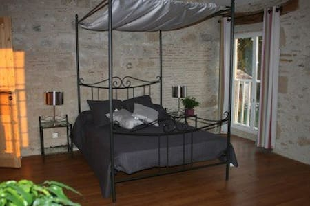 Chambre avec Spa, piscine, Sauna - Maison