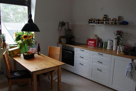 Helles Dachzimmer im Dreistädteeck (Wi, FFm, Mz) - Wiesbaden - Apartamento