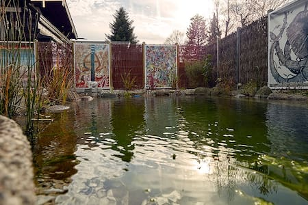 Living in a hous of artists (Room Hippopotamus) - Bad Aibling - Casa