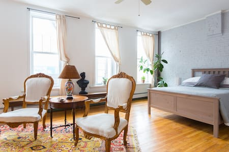 Sunny Studio in Brooklyn - Brooklyn - Apartamento