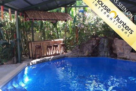 Casa Gecko Tropical Beach Home - Potrero - Maison