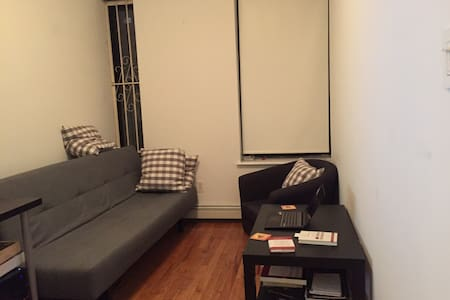 (ENTIRE HOME $200 A NIGHT AND JUST A ROOM FOR $80) Beautiful sunny room in the heart of Lower East Side. The location is unbeatable. next door neighbors to some of the best, coolest, and hip restaurants in town