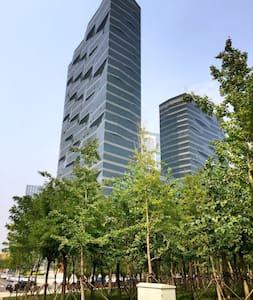 酒店式公寓高層臨海河大床房 - Appartement