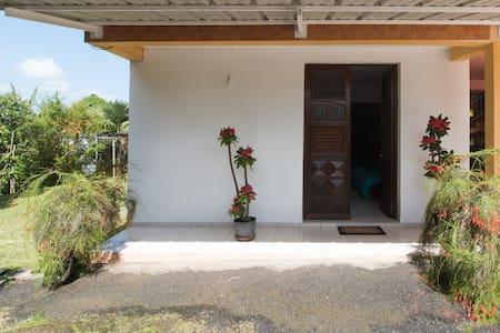 Joli bas de villa avec jardin - Lakás
