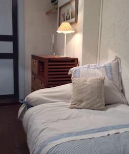 chambre bleue  Moissac centre-Ville - Talo