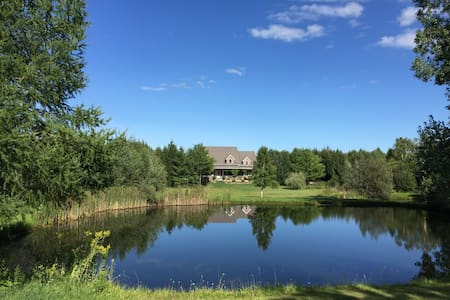 50 Private Acres one hour from Pearson Airport - Ház