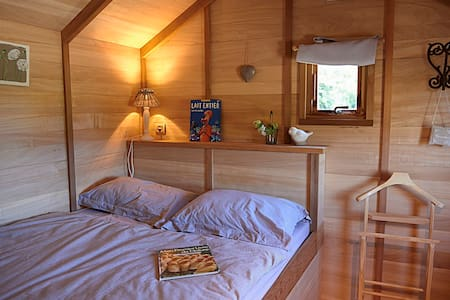 La Ferme de Croas Men : cabane à 7 Km de Morlaix - Cottage