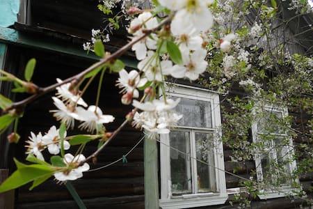 Летняя веранда на берегу Ладожского озера - Shlisselburg - House