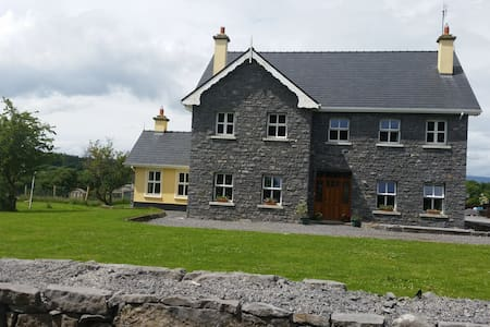 Family Room in Tranquil Farm Home - Mayo