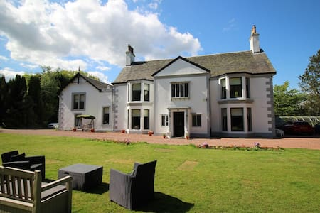 Scottish Country Mansion House - Close to Glas/Edn - Casa