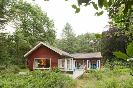 Prachtig natuurhuis in eigen bos - Kisház