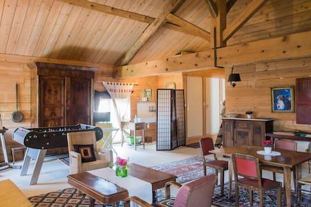 loft ambiance bois - Pouilly-le-Monial - House