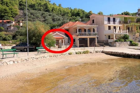 Two bedroom house with terrace and sea view Gršćica, Korčula (K-10059) - Blato - Other