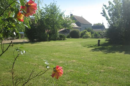 Character Village House In Loire - Civray-sur-Esves - House