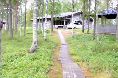 Коттедж на берегу озера в Финляндии - Apartment