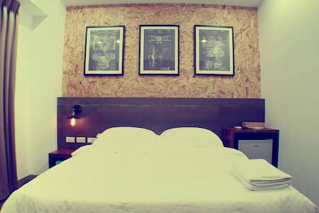 GOODDAY HOSTEL / 好天旅店雙人房 / Room B - Magong City