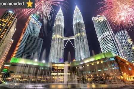 Elegant Suite in KLCC/Fast Wifi /KL Tower View - Kuala Lumpur - Appartement en résidence