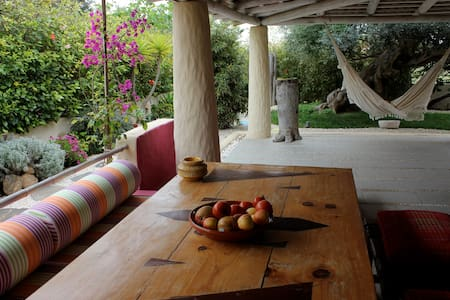 Colorful Beach House - Relax - Sea - Sun - Family - Campo De Baixo - Casa