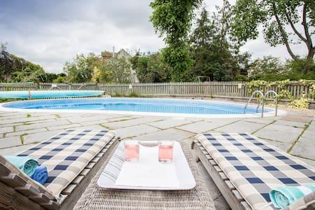 Fabulous Barn with hot tub, pool, sauna - Long Sutton - Apartment
