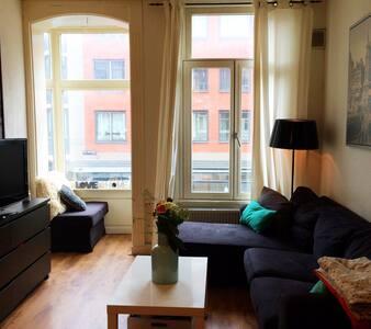 Comfortable, cosy apartment in de Pijp, Amsterdam!