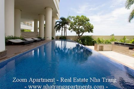 Center Seaview! Beach front. Luxury furnished! - Nha Trang - Apartment