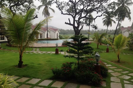 Fully Furnished one Bedroom Apartment in Siolim 08 - Lakás