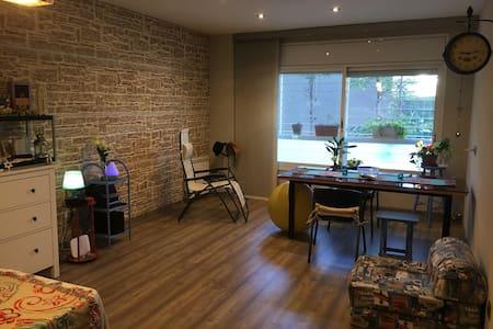 Habitación luminosa y baño privado - Barcelona - Apartamento