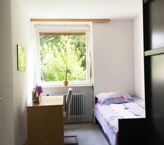 clean comfortable with bird - Flat