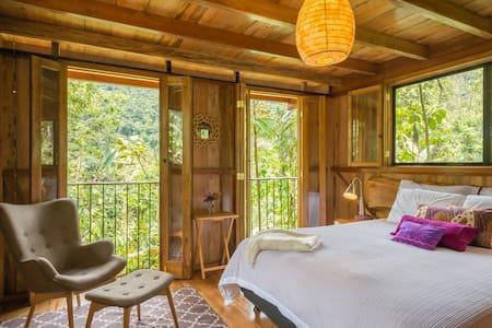 Private Upscale Cloud Forest Cabin - Kisház