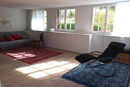 Wohnoase zwischen Zürich und Luzern - Wohnung