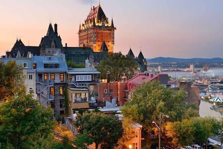 Amazing Apartment Quebec City 4 1/2 - Daire