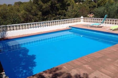 Chalet de monte  con piscina - House