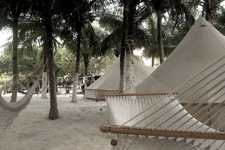 1 double bed Boutique camping Tent - Tulum - Tält