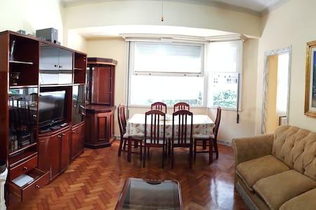 SPACIOUS 2-BEDROOM PLACE AT COPACABANA BEACH - Apartamento