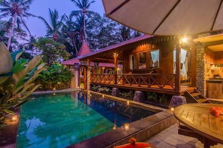 UBUD Wood Villa 1BR - Private Pool
