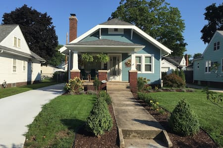 Charming South Bend Bungalow - 獨棟