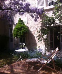 Maison ancienne au coeur du Sancerre historique - Reihenhaus