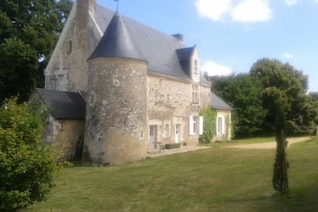 Sarthe, val de loir, Manoir 15 ème - Talo