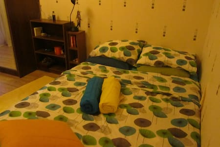 Private and cosy room with balcony near the city - Tiskre - Casa