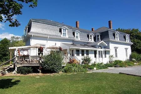 The Maine Hideaway - Ketch Room - Twin XL Beds - Brooklin - Bed & Breakfast