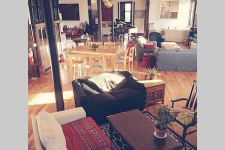 1BR in Massive Loft, Heart of Wrigley & Boystown - Chicago